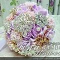 珠寶胸針捧花 (3)