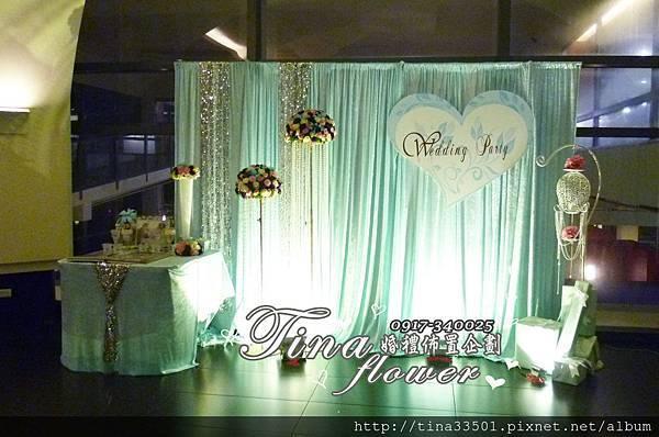 南方莊園(莊園餐廳)婚禮佈置(2).JPG