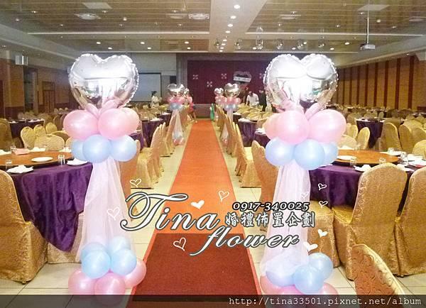 楊梅福記餐廳婚禮佈置 (8).JPG