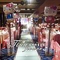 Hello Kitty背板婚禮佈置 (4).JPG