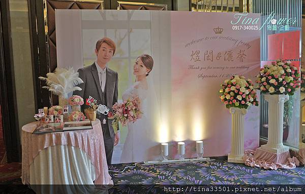 金龍鳳餐廳婚禮佈置 (5).JPG