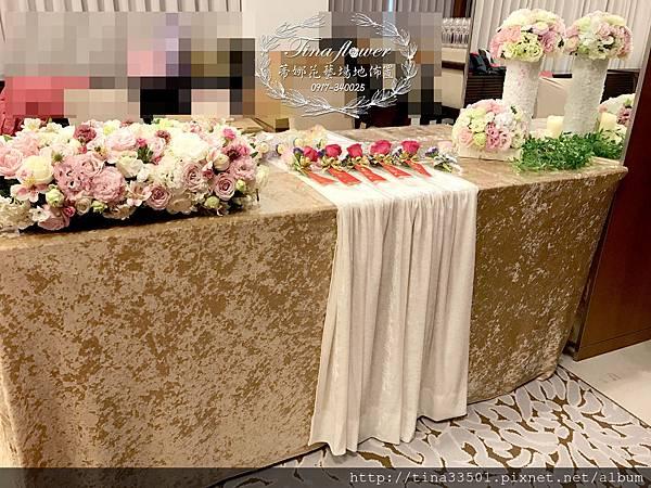 威斯汀酒店婚禮佈置 (12).jpg