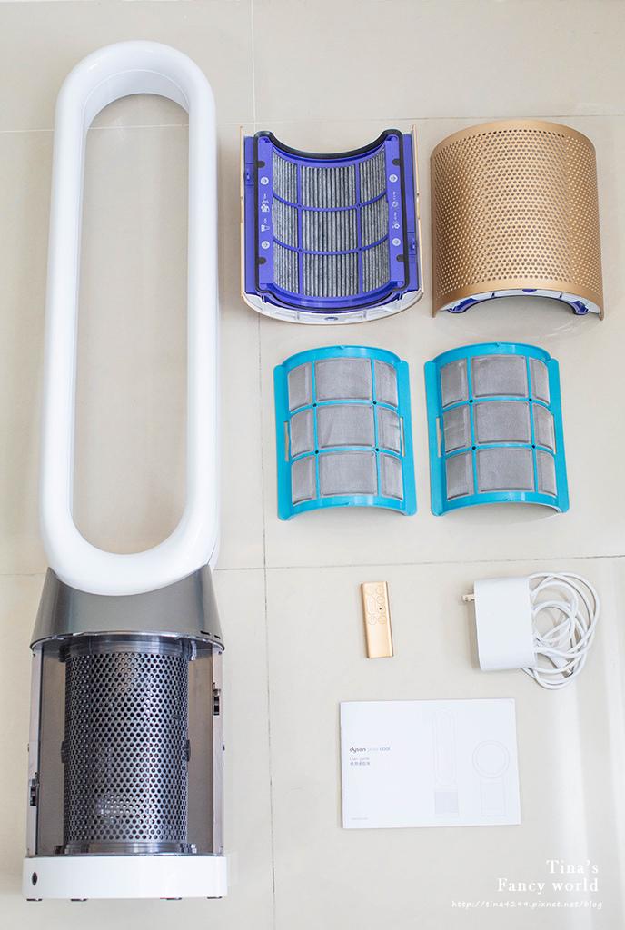 Dyson空氣清淨機TP06開箱 涼風智慧空氣清淨機 TP06_04