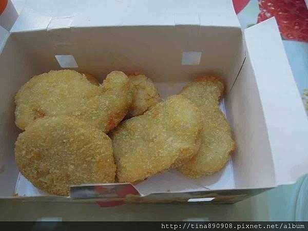 丹丹漢堡-3號餐-1060226晚餐-無骨雞塊.jpg