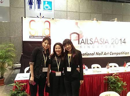 2014/2/17新加坡國際指甲藝術大賽