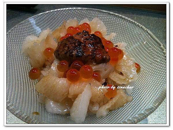 法國鵝肝鮭魚子比目魚緣側丼.jpg