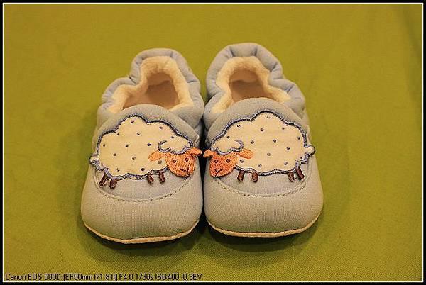 Love World 粉藍綿羊鞋.jpg