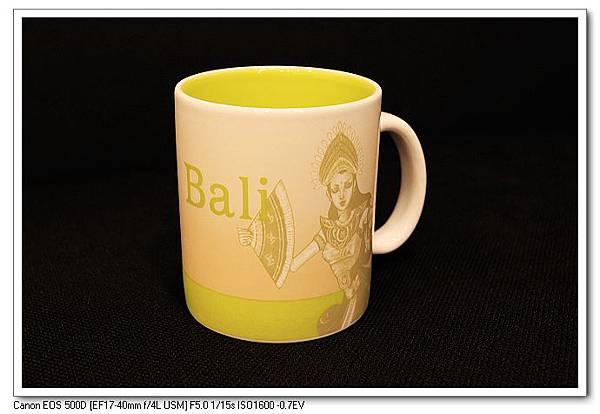 Bali星巴克馬克杯(正面)合台幣450大洋