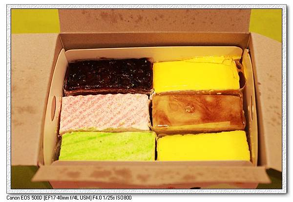 多力倫六款切片蛋糕