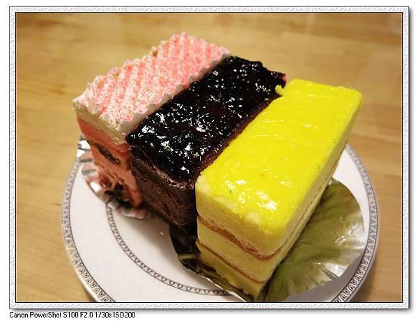 草莓戀人+藍莓朱古力+檸檬彩虹