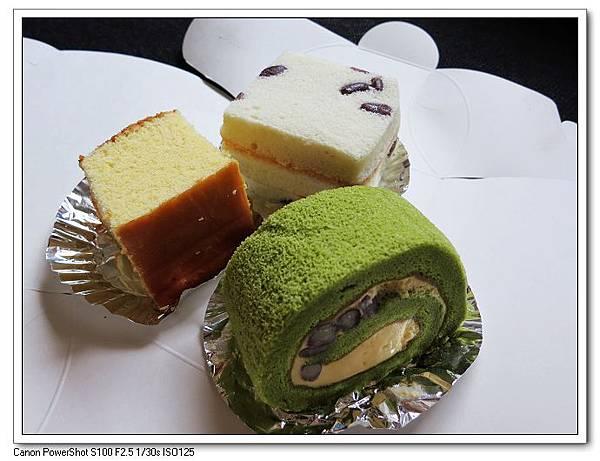 三款彌月蛋糕試吃