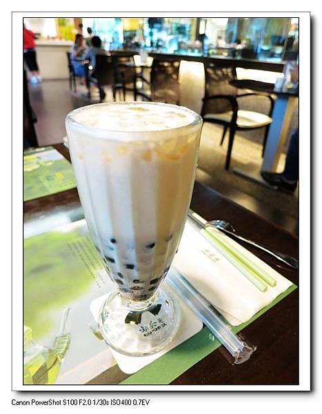 冰香芋QQ奶綠(半糖)