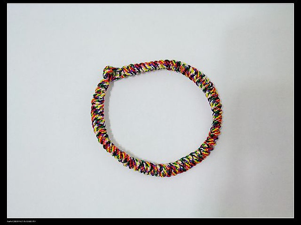 麼吉送的平安五色環
