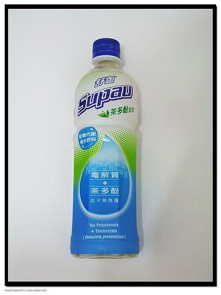 舒跑 茶多酚添加 新陳代謝補水飲料