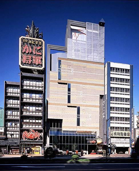 位於札幌薄野市中心的螃蟹將軍.螃蟹家.jpg