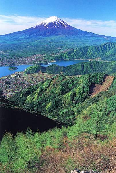 富士與河口湖_山梨縣提供