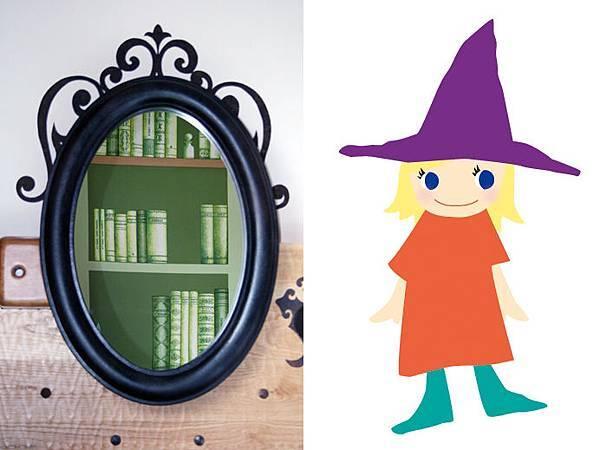 小魔女跟魔鏡 .jpg
