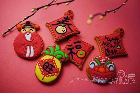 紅咚咚新年小餅-1
