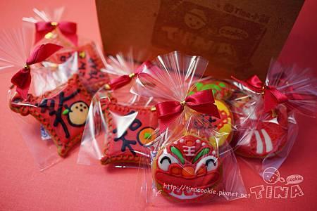 紅咚咚新年小餅-包裝