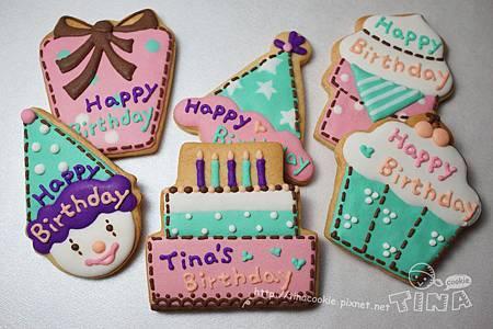 生日小餅-派對版