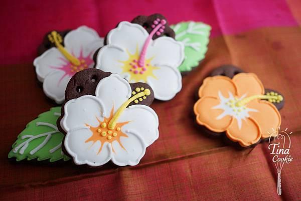 收涎小餅-扶桑花