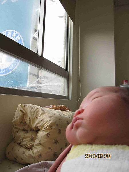 醒著喜歡看窗外1.jpg