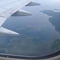 準備降落帛琉機場