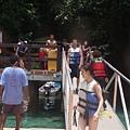 進入水母湖的入口