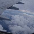 帛琉天空的雲層