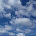 看到藍天了