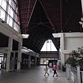 帛琉機場內沒有空調的地方