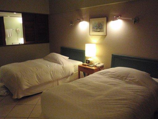 舒服的床及枕頭