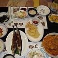 待在濟州島最後一晚的晚餐