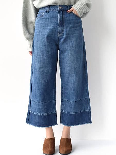 W closet百搭復古寬鬆牛仔寬褲.jpg