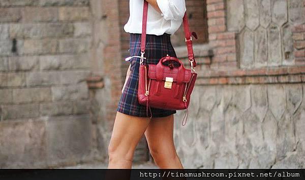 checks-skirt-plaid-zara-phillip-lim-red-bag-boots-shinny-zina-charkoplia-686x405