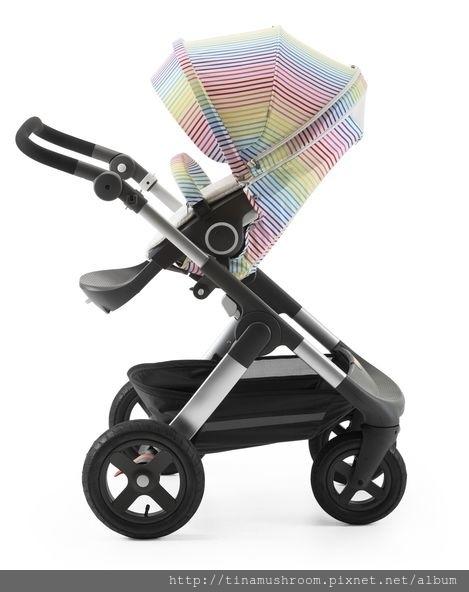 Stokke Stroller Summer Kit Multi Stripes with Trailz chassis 150908-8847_26722.jpg