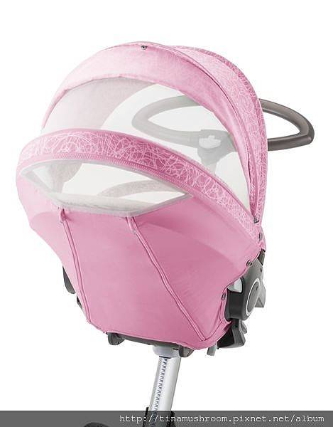 Stokke Stroller Summer Kit Scribble Peony Pink with Xplory chassis 141022-9599_26760.jpg