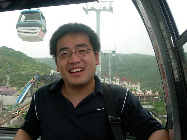67纜車中..面山.JPG