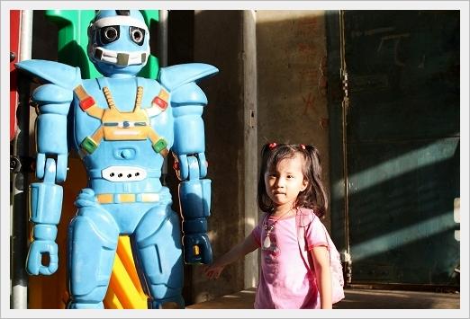 很愛這機器人