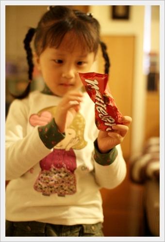 最近很愛吃巧克力