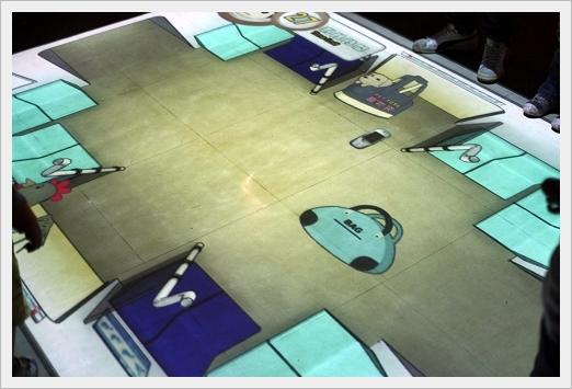 地板遊戲(不能進捷運的要踢出去)