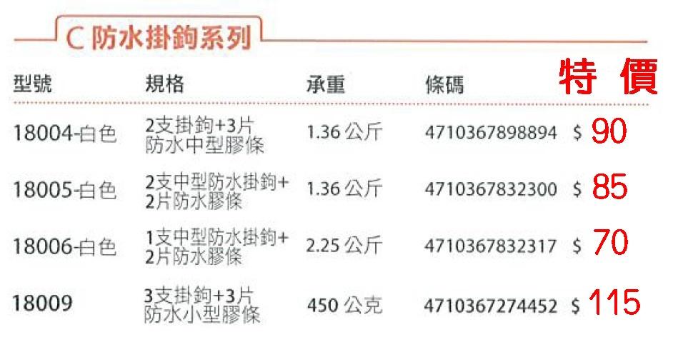 4-31-18004掛鉤字