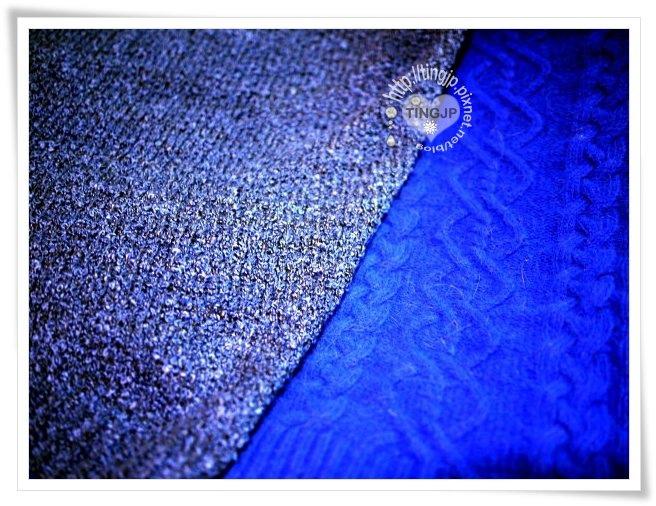 有比較才知道寶石藍有多美