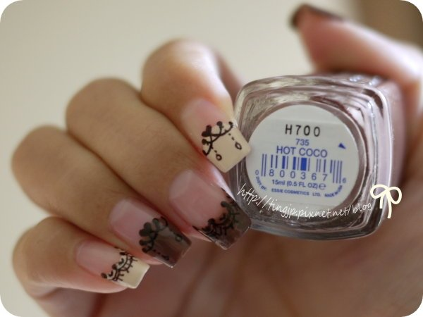 essie #735 HOT COCO