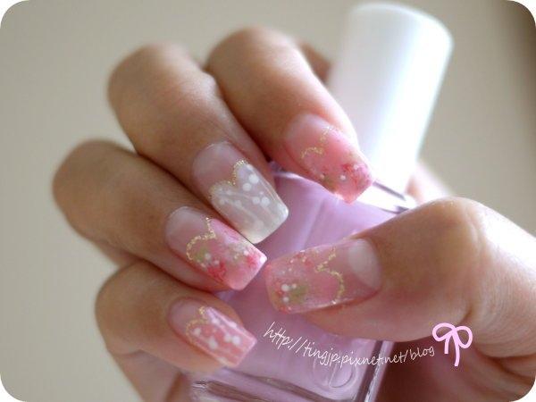 右手:2指垂櫻花樣