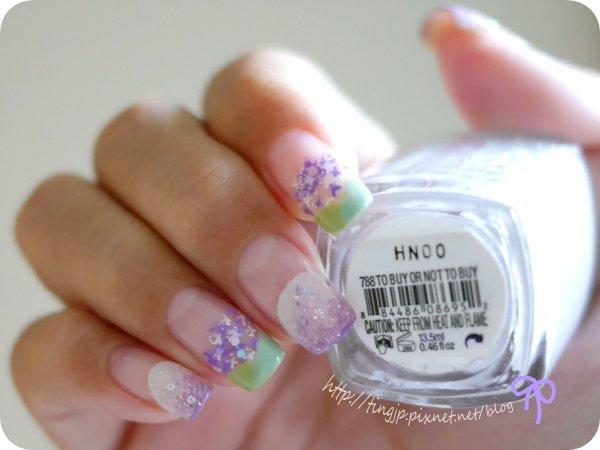 essie 淺紫色
