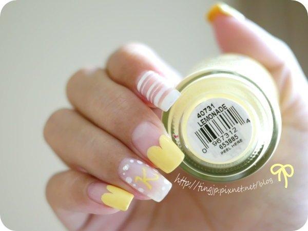 白×檸檬黃