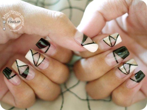 好多三角形唷!!