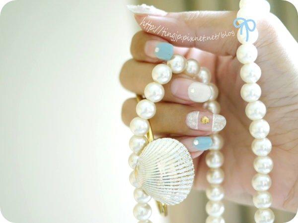 貝殼+真珠
