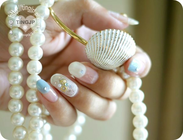 手握更多珍珠+貝殼